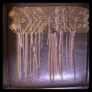 Free People Brass gold/silver bracelet